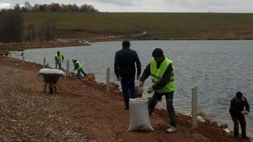 Торбеево озеро База отдыха