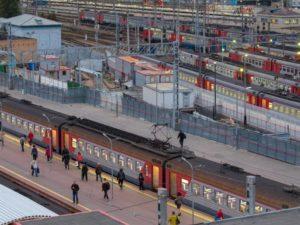 Платформа Ярославского вокзала