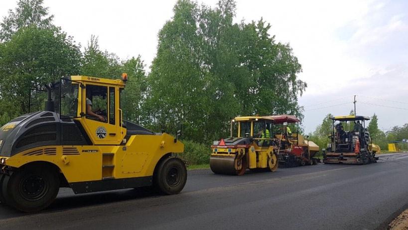 Ремонт дорог в СНТ подмосковья