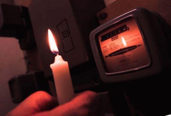Отключение электроснабжения за долги в СНТ