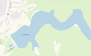 Озеро Лесное. Утонул человек