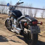 Угнан мотоцикл деревня Митино